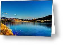 A Day At The Lake Greeting Card