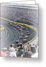 A Day At The Racetrack Greeting Card