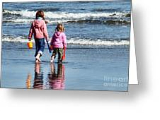 A Day At The Seaside  Greeting Card