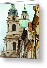 A Day In Prague Greeting Card