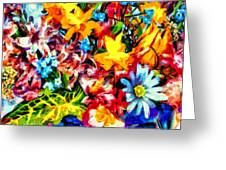 A Day In Spring Greeting Card