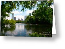 A Day On Ladybird Lake Greeting Card