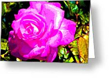 A Delta Rose Greeting Card