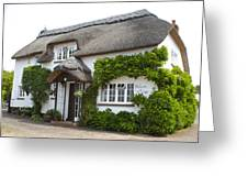 A Devonshire Cottage Greeting Card