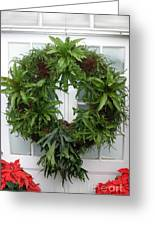 A Different Christmas Wreath Greeting Card