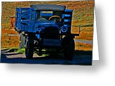 A Dodge In Bodie Greeting Card