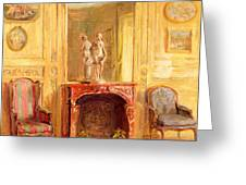 A Drawing Room Greeting Card