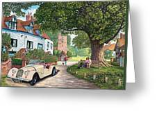 A Drive Out Greeting Card