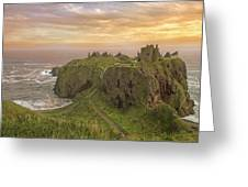 A Dunnottar Castle Sunrise - Scotland - Landscape Greeting Card