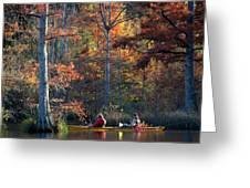 A Fall Fishing Trip Greeting Card