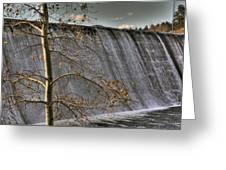 A Fall Waterfall Greeting Card