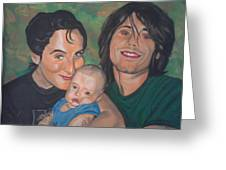 A Family Portrait Greeting Card
