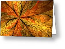 A Feeling Of Autumn Greeting Card