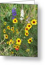 A Field Bouquet Greeting Card