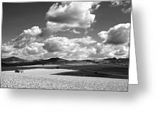 A Field Of Wheat. Limagne. Auvergne. France Greeting Card