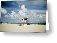 A Fine Day At The Beach Greeting Card