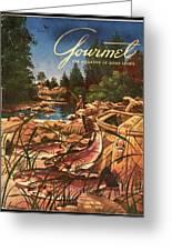 A Fishing Scene Greeting Card