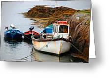 A Fishing We Will Go Greeting Card