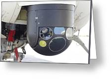 A Flir Camera Mounted On An Eh101 Greeting Card