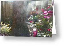 A Foggy Mist Greeting Card