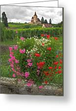 A French Country Church Greeting Card