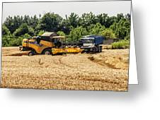 A French Harvest Greeting Card