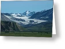 A Glacier Receding Greeting Card