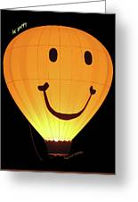 A Glowing Smile Greeting Card