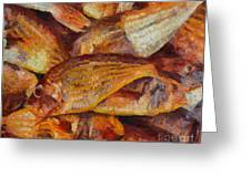 A Good Catch Of Fish Greeting Card