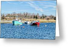 A Good Day To Fish Greeting Card