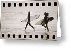 A Good Day To Surf Greeting Card
