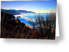 A Gorgeous Morning On The Pacific Greeting Card
