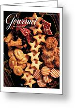 A Gourmet Cover Of Butter Cookies Greeting Card