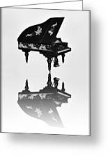 A Grand Piano Greeting Card