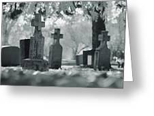 A Graveyard Greeting Card