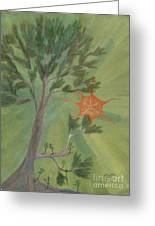 A Great Tree Grows Greeting Card by Robert Meszaros