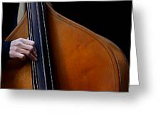 A Hand Of Jazz Greeting Card