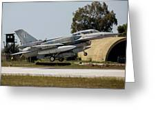 A Hellenic Air Force F-16d Block 52+ Greeting Card