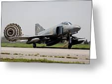 A Hellenic Air Force F-4e Phantom Greeting Card