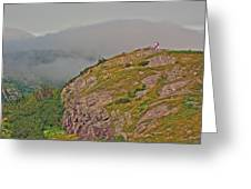 A High Point On Signal Hill National Historic Site In Saint John's-nl Greeting Card