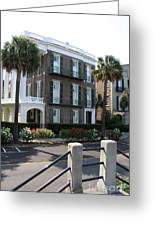 A Historic Home On The Battery - Charleston Greeting Card