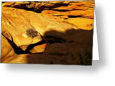 A Hole In The Rock Greeting Card