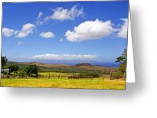 A Home With A View Greeting Card