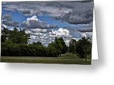 A July Cold Front Rolling By Greeting Card