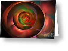 A Kind Of Inner Opalescence Greeting Card