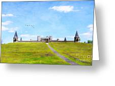 A Kings Castle Greeting Card