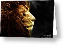 A King's Look 2 Greeting Card