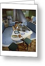 A Kitchen Designed By Ralph & Jane Bonnell Greeting Card