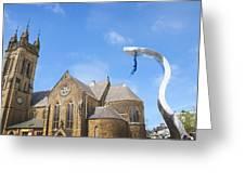A Leap Of Faith Greeting Card