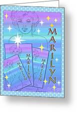 A Legendary Star Greeting Card